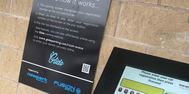 Ricoh Arena installs ticketless pay-on-foot parking system from Newpark Solutions